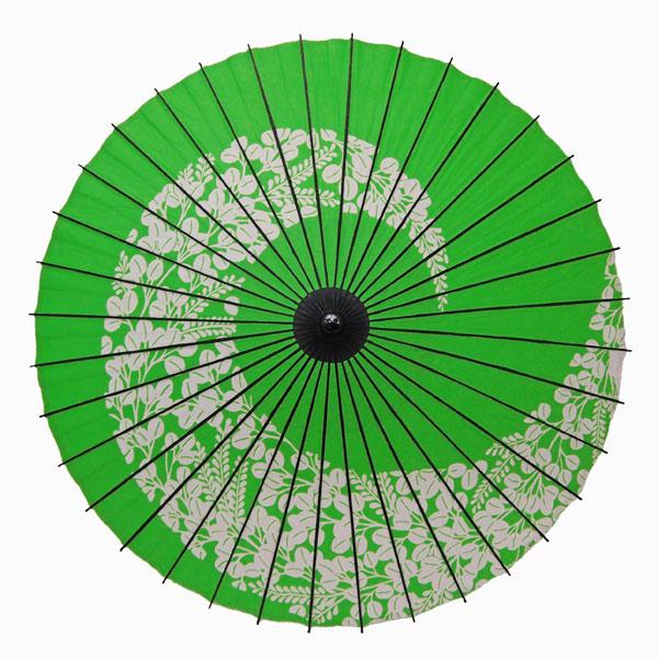 紙傘 萩渦 若草