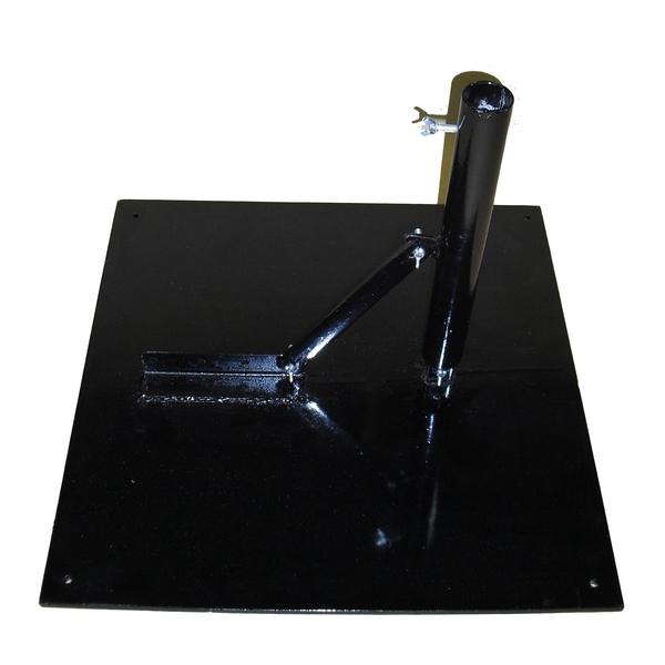 野点傘鉄製傘立台 角度調節可能