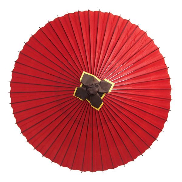 大番傘 赤 別注品
