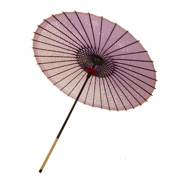 紙傘 尺5 満天桜 紫