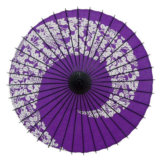 布傘 萩渦 紫