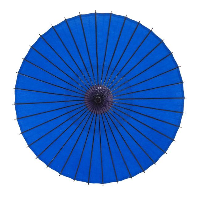 布傘 無地 青