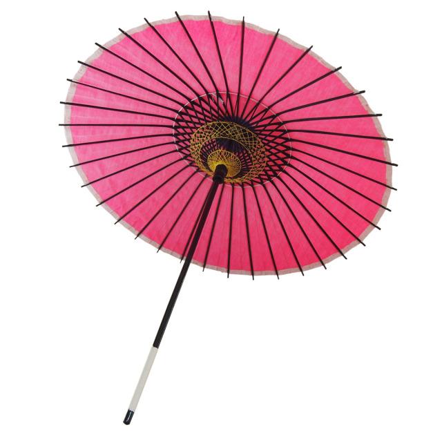 布傘 無地 ピンク
