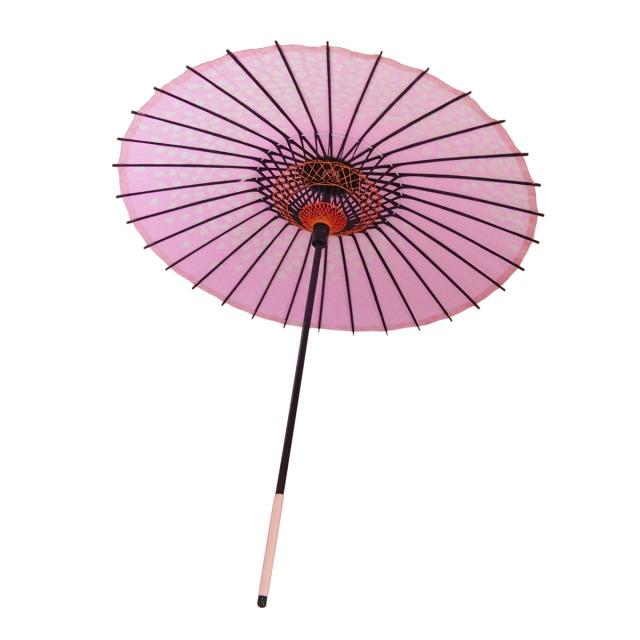 こども用和傘 桜渦 ピンク2