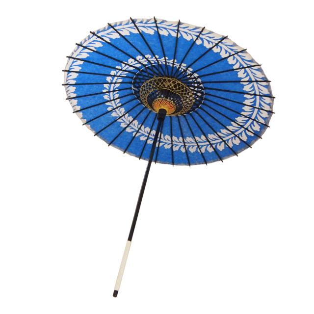 こども用和傘 藤渦 紺2