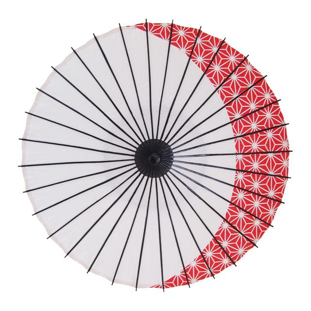 こども傘 麻月 朱色