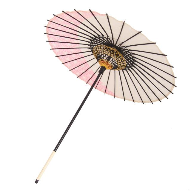 こども用和傘 麻月 ピンク