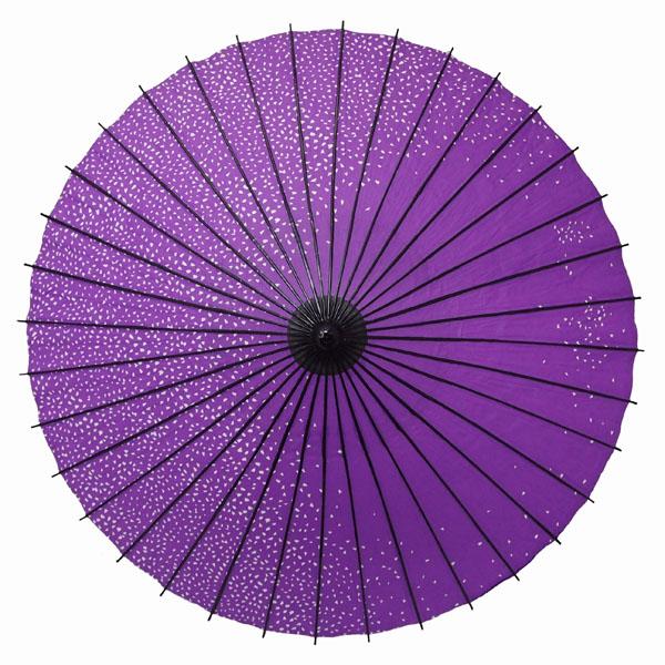 紙舞日傘 満天桜 紫