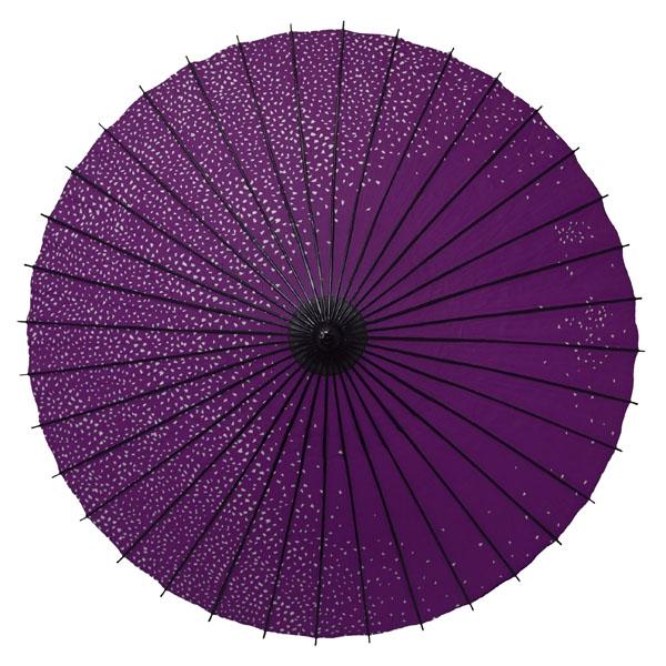 紙舞日傘 尺5 満天桜 紫
