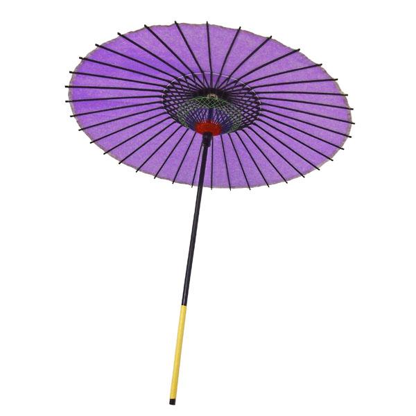 紙舞日傘 尺5 無地 紫