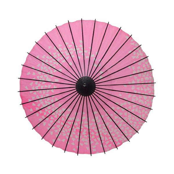 こども用和傘 桜渦 ピンク