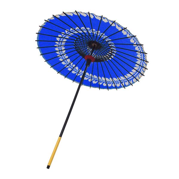 こども用和傘 藤渦 青