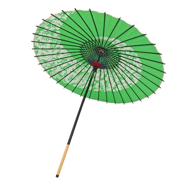 紙舞日傘 萩渦 若草