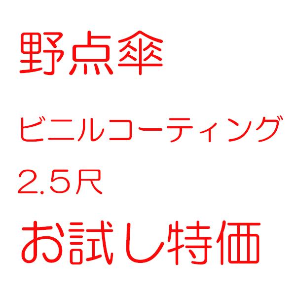 野点傘 ビニール 25特価
