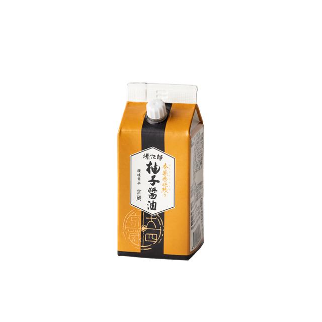 本果香味絞り 柚子醤油 紙パック200ml