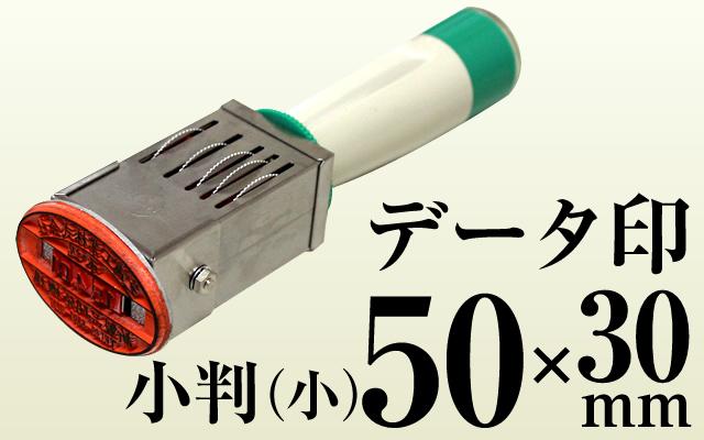 データ印 小判 小(50×30)