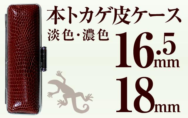 本トカゲ皮ケース 16.5&18用