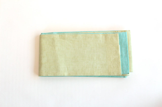 半巾帯(カラミ織)