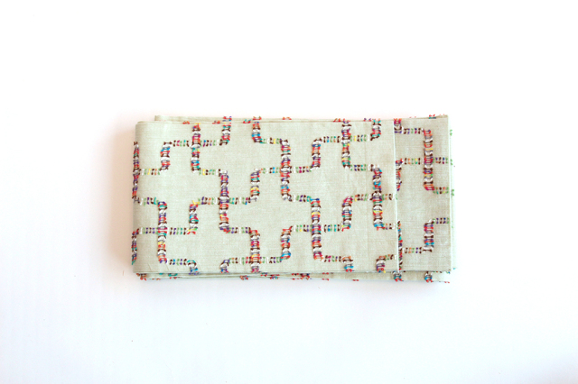 半巾帯(カットジャガード)