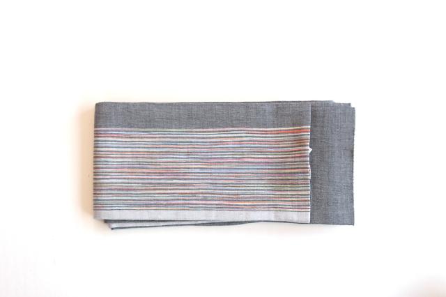 半巾帯 縞