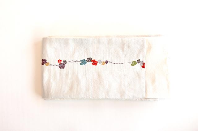 つた半巾帯(ベージュ)