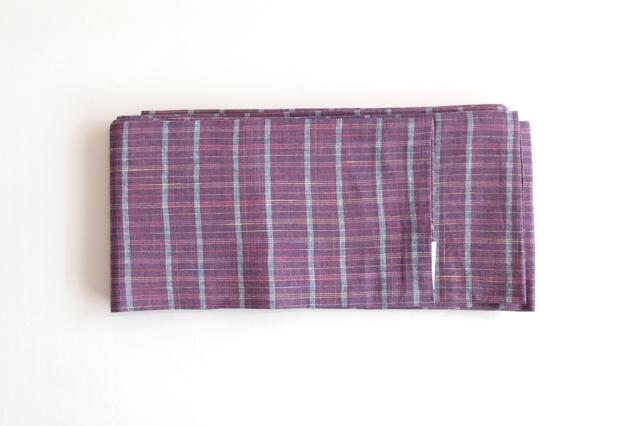 半巾帯 格子
