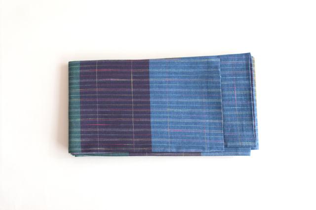 半巾帯 横段