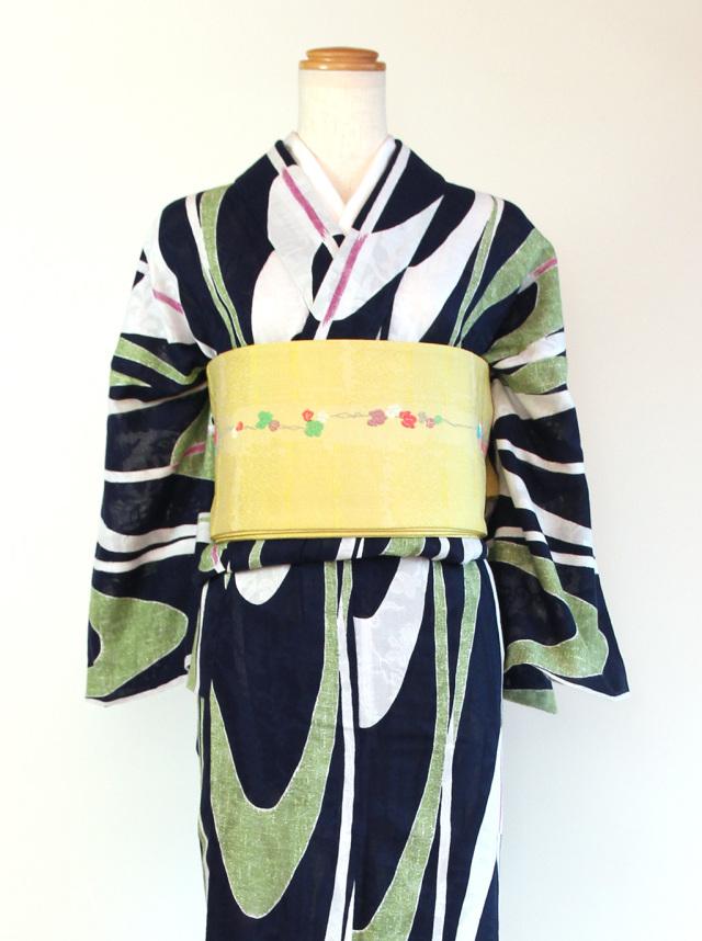 矢羽根(カラミ織)