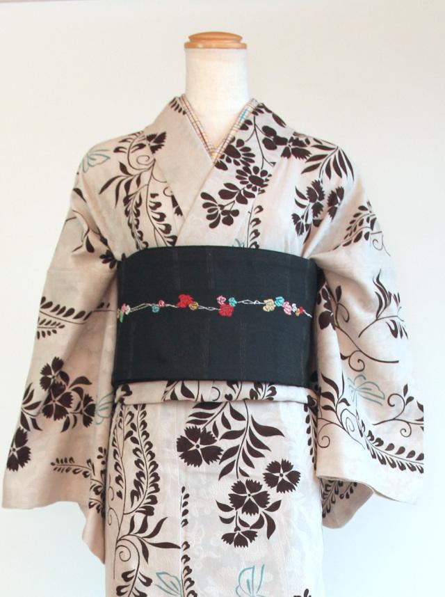 藤にちょう(カラミ織)