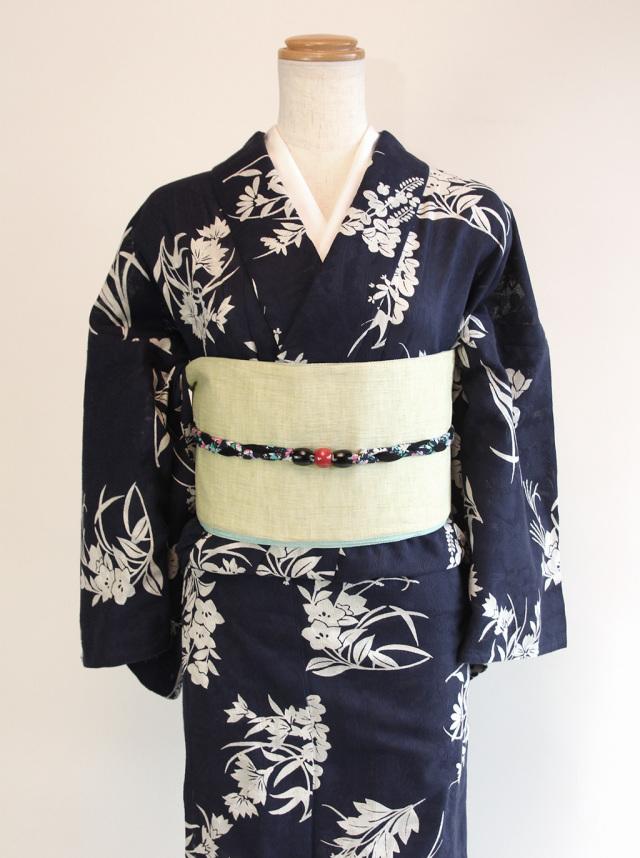 花市松(カラミ織)