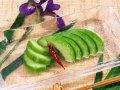 瓜の朝切り