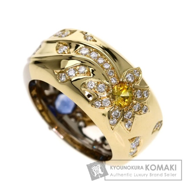ecf41e50ba84 CHANEL シャネル ナイトアンドデイ/サファイア/ダイヤモンド リング・指輪 K18イエローゴールド/K18WG レディース