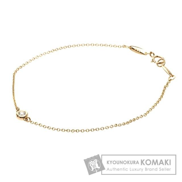 online store d3895 fa300 TIFFANY&Co. ティファニー バイザヤード/ダイヤモンド ブレスレット K18ピンクゴールド レディース