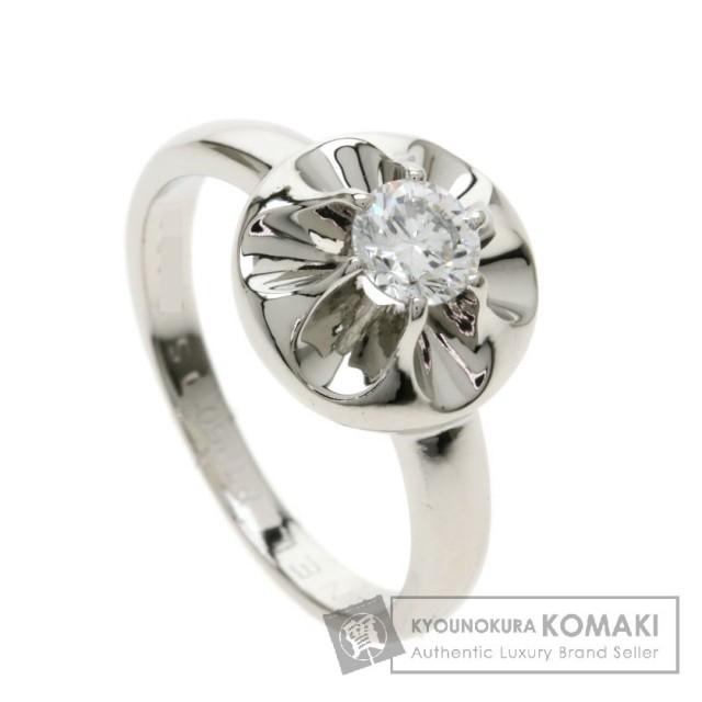 100b51c549b3 CHANEL シャネル カメリアリング ダイヤモンド リング・指輪 プラチナPT950 レディース