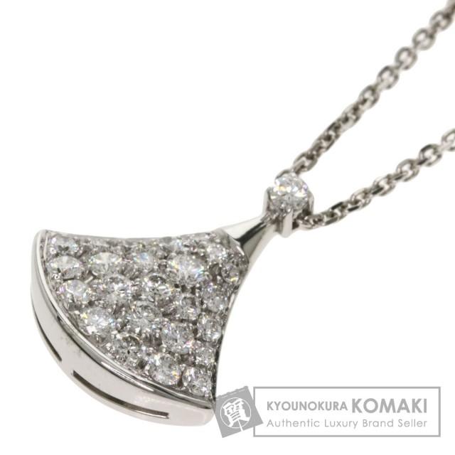 huge discount a74c9 bb29d BVLGARI ブルガリ ディーヴァ ドリーム ダイヤモンド ネックレス K18ホワイトゴールド レディース