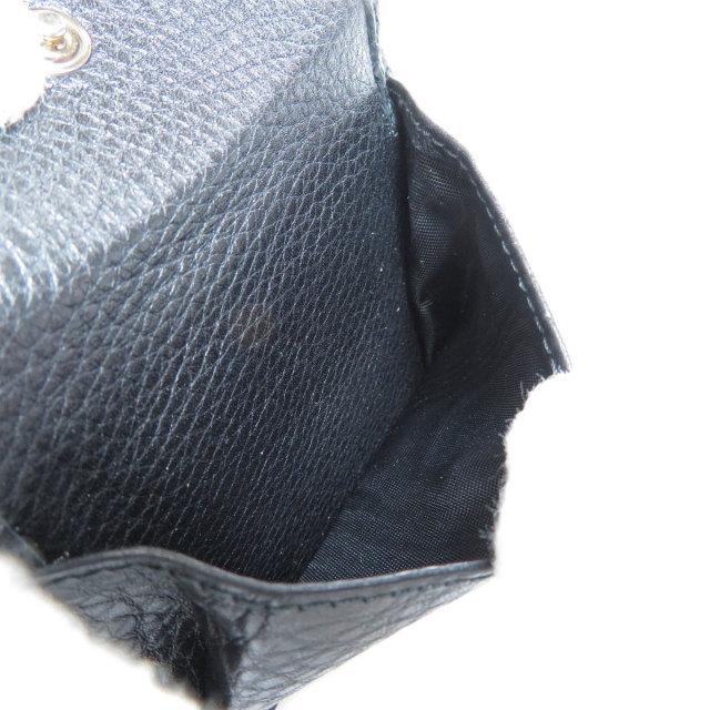 791017e0f418 GUCCI グッチ ロゴデザイン 二つ折り財布(小銭入れあり) レザー メンズ ...