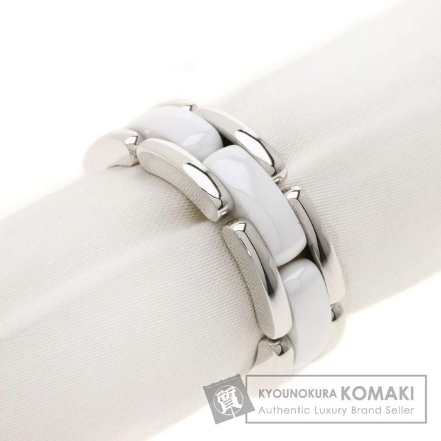 eb48433afa7b CHANEL シャネル ウルトラリング ホワイトセラミック #58 リング・指輪 K18ホワイトゴールド レディース