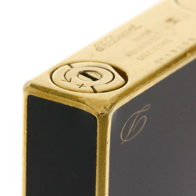 online store c5b7f 15a22 Dupont デュポン LIGNE2 黒漆 ライター 金属製 メンズ
