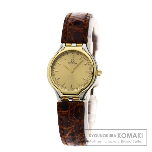 low priced 75146 80c42 OMEGA オメガ デビル 腕時計 ステンレススチール/革 レディース