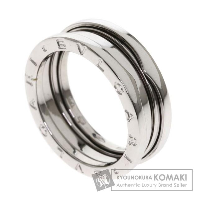 finest selection a7a55 f377a BVLGARI ブルガリ B-zero1 S #60 リング・指輪 K18ホワイトゴールド メンズ