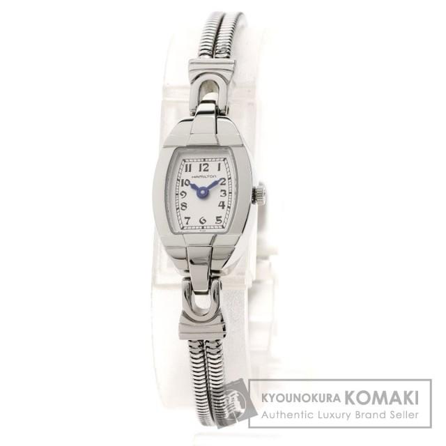 first rate 11513 39b94 HAMILTON ハミルトン 280.002 タイムレスクラシック 腕時計 ステンレススチール/SS レディース