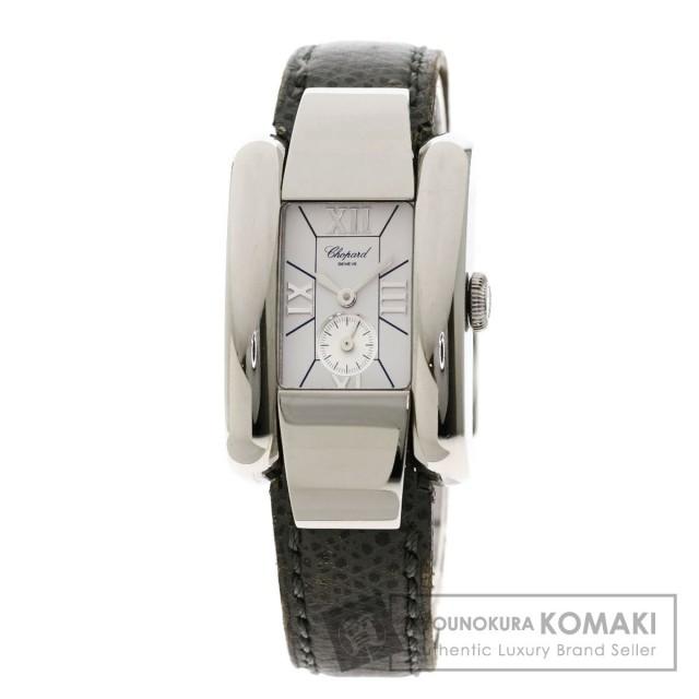 quality design 7679a 221c6 Chopard ショパール 8357 ラ・ストラーダ 腕時計 ステンレススチール/革 レディース