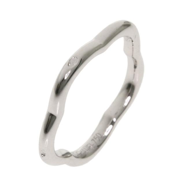 newest collection 1a57b 16098 CHANEL シャネル カメリアリング 1Pダイヤモンド #49 リング・指輪 K18ホワイトゴールド レディース