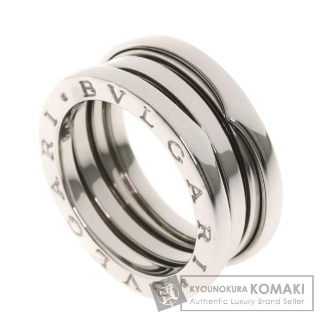 buy online 2c5b6 1f008 BVLGARI ブルガリ B-zero1 S #54 リング・指輪 K18ホワイトゴールド レディース
