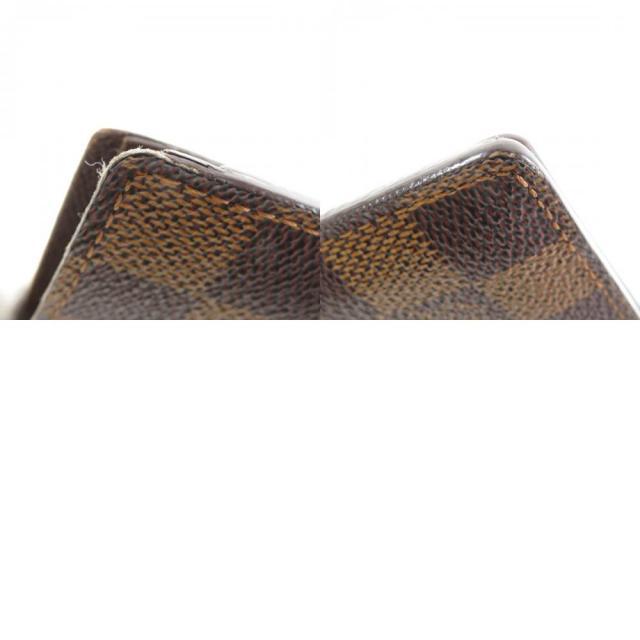 f1401dfd5286 LOUIS VUITTON ルイヴィトン N61675 ポルトフォイユ・マルコ 二つ折り財布(小銭入れあり) ダミエキャンバス メンズ