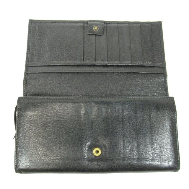 online store f03ae a6252 BALENCIAGA バレンシアガ ベルトデザイン 長財布(小銭入れあり) レザー ユニセックス
