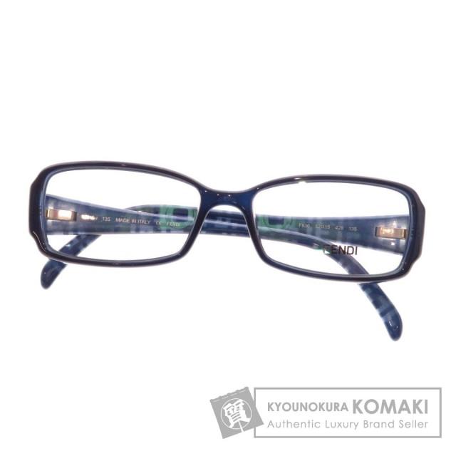 classic fit 68295 80ce1 FENDI フェンディ ズッカ柄 メガネフレーム 眼鏡 プラスチック レディース
