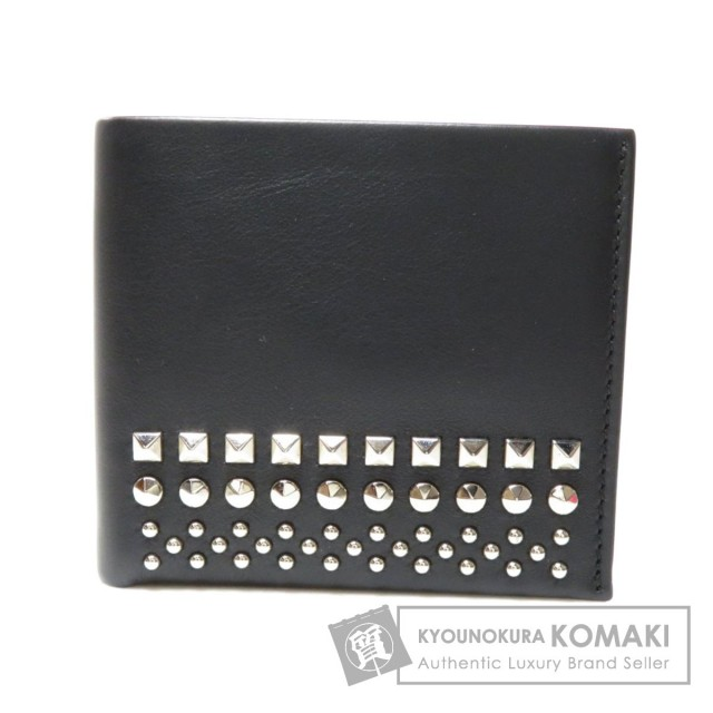 premium selection b093d bc15a SALE! WEB限定商品★GUCCI グッチ 387454 スタッズ 二つ折り財布(小銭入れあり) レザー メンズ