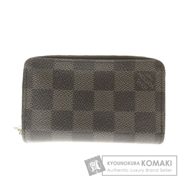 more photos ff8b9 0a5a8 LOUIS VUITTON ルイヴィトン N63076 ジッピーコインパース コインケース ダミエキャンバス メンズ