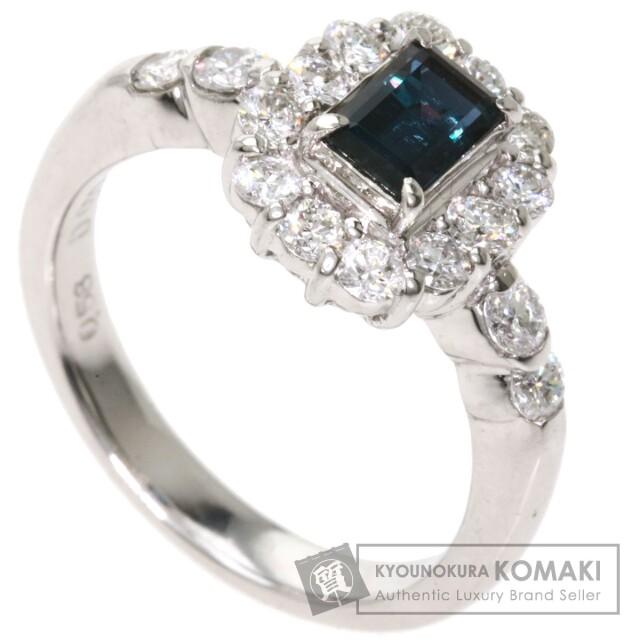 0.58ct アレキサンドライト ダイヤモンド リング・指輪 プラチナPT900 7g レディース